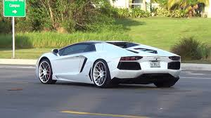 The World S Best Supercars Lamborghini Aventador Traffic At