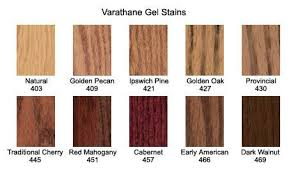 Varathane Classic Wood Stain Color Chart Varathane Gel Stain Colors Google Search In 2019 Minwax