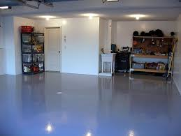 painted concrete floorsPainting concrete floors in garage with light blue paint