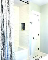 permanent shower rod permanent shower rod how to install a permanent shower curtain rod how to permanent shower rod