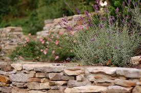 why we love dry stacked walls a yard