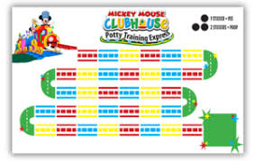 Free Printable Friday Mickey Mouse Potty Training Express
