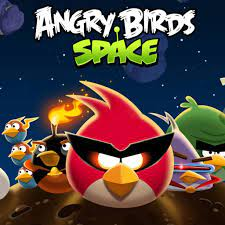 1024x1024 Angry Birds Space Game desktop PC and Mac wallpaper