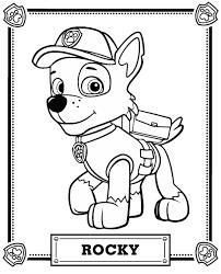 Paw Patrol Pawpatrol Paw Patrol Coloring Pages Paw Patrol