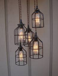 industrial looking lighting pendants. lighting: excellent wired cage industrial style outdoor pendant lights ideas - glass looking lighting pendants t