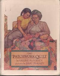The Patchwork Quilt | Quilting and Stuff by Knitnoid & Thursday night my husband brought me a new book — well new to me. The  Patchwork Quilt by Valerie Flournoy with pictures by Jerry Pinkney. Adamdwight.com
