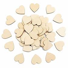 100pcs 60mm blank unfinished wooden heart crafts supplies laser wood wedding decoration teaching diy accessories