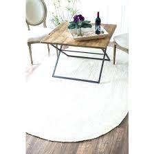 jute rug 6x9 9 x oval hand woven white