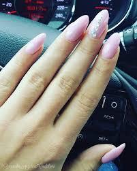 Nails Baby Pink Swarovski Angelina Beauty Blogger