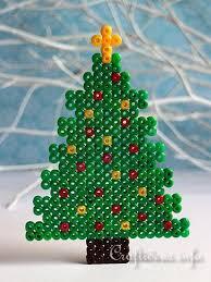 35 Best Perler Beads Images On Pinterest  Hama Beads Perler Perler Beads Christmas Tree