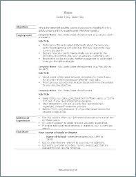 Resume Writing Template Basic Resume Template Resume Writing
