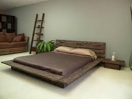 image of platform bed plans design