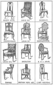 styles of furniture design. antique chair style identification chart i love chairs styles of furniture design r
