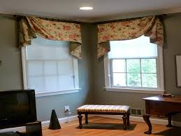 Bedroom: Bedroom Window Curtains Awesome Youngblood Interiors Corner Window  Treatments For The -