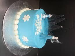 One Tier Disneys Frozen Birthday Cake Scq
