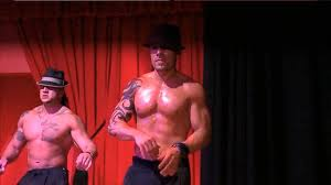 Male strippers women stage