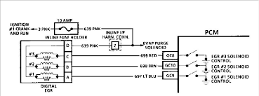 egr valve causes check engine light to come on 3 1 v6 and the diagram