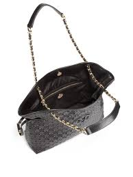 Tory burch Marion Quilted Slouchy Shoulder Bag in Black | Lyst & Gallery. Previously sold at: Saks Fifth Avenue · Women's Tory Burch Marion Adamdwight.com