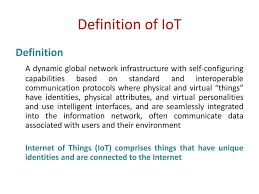 Physical And Logical Design Of Internet Of Things Unit I Ppt Download