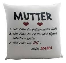 Details Zu Kissen Mama Als Geschenk Zu Muttertag Oder Geburtstag Zierkissen Mit Spruch