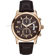"men s guess exec chronograph watch w0076g4 watch shop comâ""¢ mens guess exec chronograph watch w0076g4"