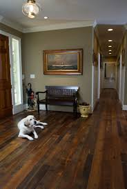 Real, Hard Wood Floors Have Such An Organic And More Authentic Feeling  Versus Wood Laminate.love The Wall Color And Painting