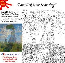 Small Picture Free Kids Childrens Coloring Colouring in of Famous Art Monet