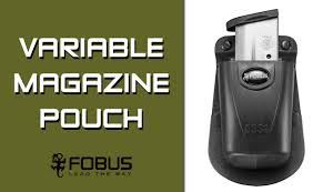 Single Stack Magazine Holder Fobus Variable Single Magazine Pouch for 100mm Single Stack Mags 83