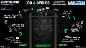 chest routine beginner no weights
