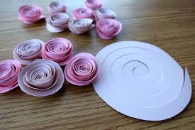 Diy Paper Flower Tutorials Rolled Paper Flower Tutorial Magdalene Project Org