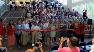 Northridge Middle Celebrates New Building With Ribbon Cutting Monday