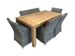 wicker furniture nz. Perfect Furniture Corona Dining Set 7 Piece Intended Wicker Furniture Nz S