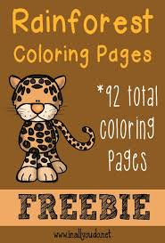 Small Picture Rainforest Layers Coloring Page Pictures HSIE Pinterest