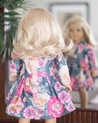 Doll Patterns Magnificent Dolly Helena PDF Sewing Pattern For 48 48 48 American Girl