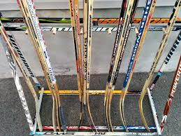 Hockey Stick Coat Rack Inspiration Coat Rack Hockey Stick Builds