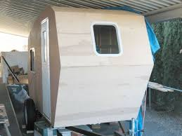 Build This Lightweight Camper On A Commercial Trailer With