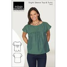 Tunic Top Patterns Fascinating Indygo Junction Slight Sleeve Tunic Top Sewing Pattern Girl
