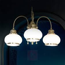 nostalgika 3 lamp antique brass pendant lamp 4014356 01