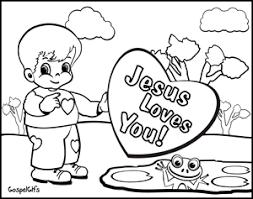 John the baptist baptizes jesus. Father S Day Coloring Page Jesus Loves You Crossmap