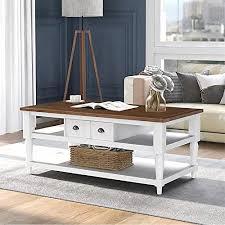 storage u style mordern coffee table