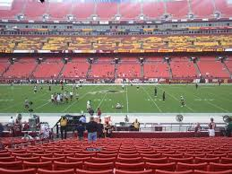 Redskins Seating Chart View Washington Redskins Seating Guide Fedexfield