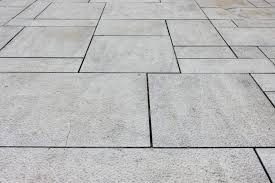 a stone tiled surface