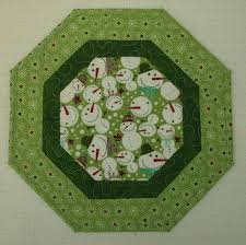 festive snowmen handcrafted quilted table topper 12 1