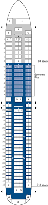 United Plane Seating Chart United Airlines Aircraft Seatmaps Airline Seating Maps And