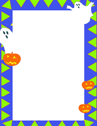 free halloween stationery templates free printable preschool borders free download best free printable