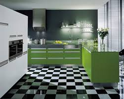 Latest Kitchen Furniture Modern Green Kitchen Design Quicuacom