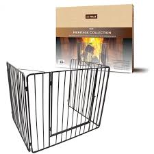 stove guard. heritage premium stove guard with gate o
