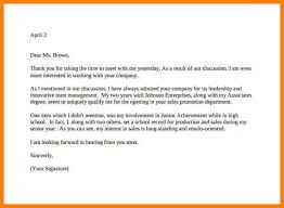 6+ Thank You Note After Interview Examples   Phoenix Officeaz