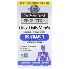 dr formulated once daily men s by garden of life promotes digestive and colon health immunity and may reduce gas place your order today