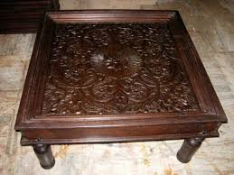 decoration in carved coffee table with carved indian coffee table furniture australia shikara design